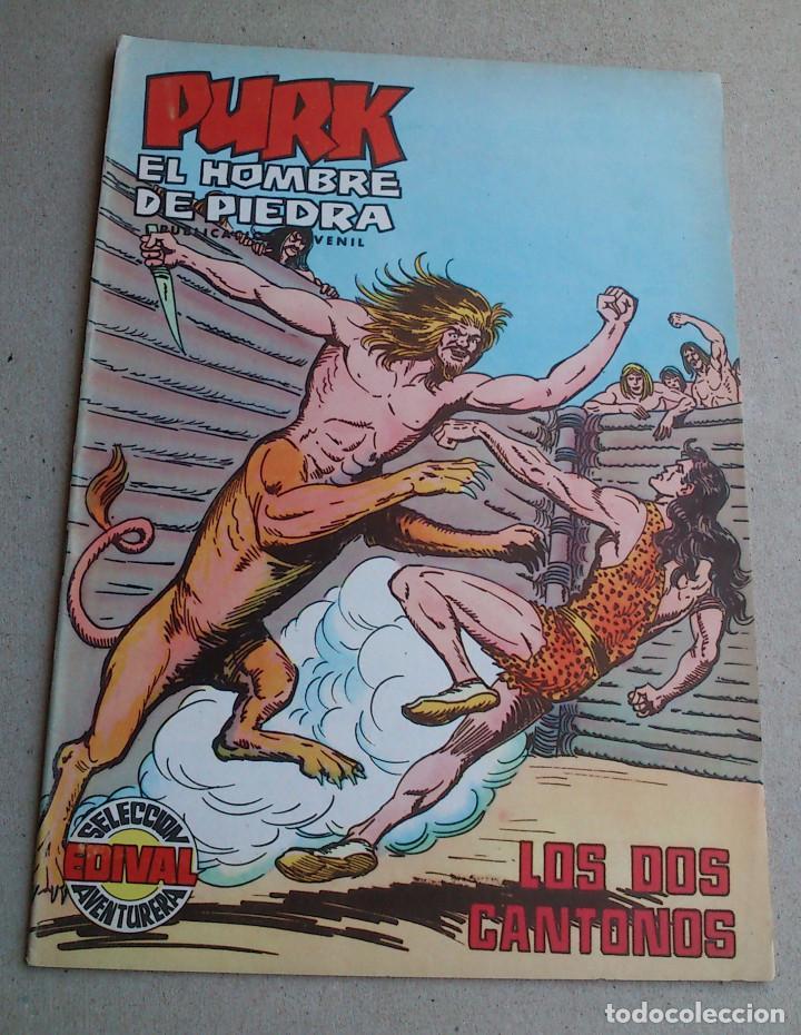 PURK EL HOMBRE DE PIEDRA Nº 105 LOS DOS CANTONOS - GAGO - EDIVAL - 1976 - NUEVO (Tebeos y Comics - Valenciana - Purk, el Hombre de Piedra)
