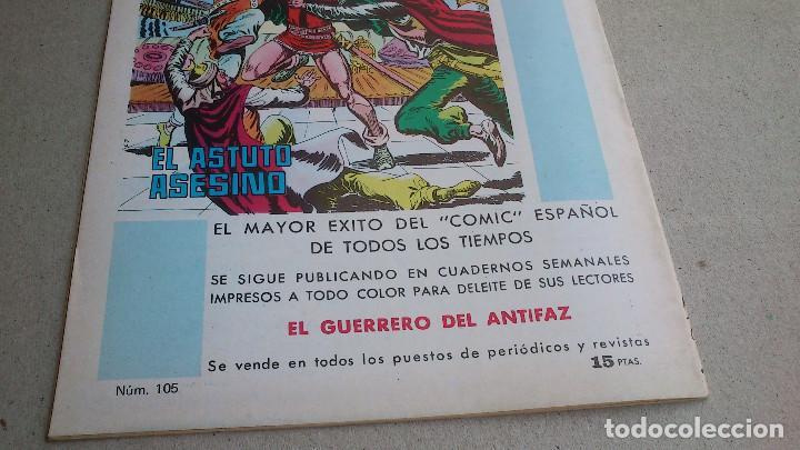 Tebeos: PURK EL HOMBRE DE PIEDRA Nº 105 LOS DOS CANTONOS - GAGO - EDIVAL - 1976 - NUEVO - Foto 5 - 86457920