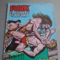 Tebeos: PURK EL HOMBRE DE PIEDRA Nº 106 LA ÚLTIMA AMENAZA - GAGO - EDIVAL - 1976 - NUEVO. Lote 86458148