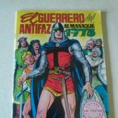 Tebeos: EL GUERRERO DEL ANTIFAZ, ALMANAQUE 1973 - VALENCIANA,ORIGINAL. Lote 86499796