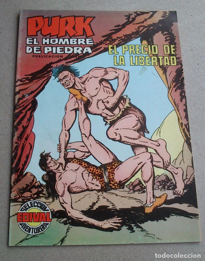 PURK EL HOMBRE DE PIEDRA Nº 109 EL PRECIO DE LA LIBERTAD - GAGO - EDIVAL - 1976 - NUEVO (Tebeos y Comics - Valenciana - Purk, el Hombre de Piedra)