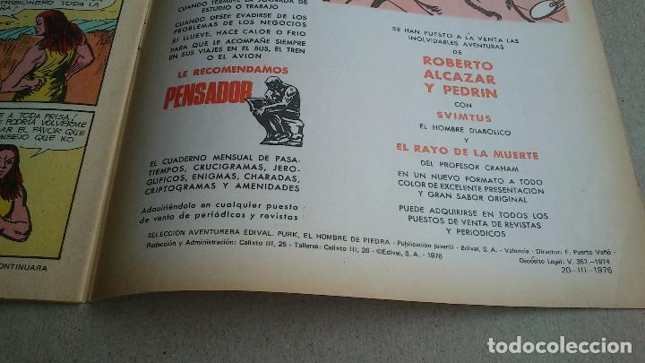 Tebeos: PURK EL HOMBRE DE PIEDRA Nº 109 EL PRECIO DE LA LIBERTAD - GAGO - EDIVAL - 1976 - NUEVO - Foto 4 - 86510848