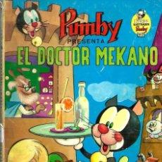 Tebeos: J. SANCHIS - LIBROS ILUSTRADOS PUMBY Nº 7 - EL DOCTOR MEKANO - ED. VALENCIANA 1968, VER DESCRIPCION. Lote 86867932