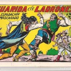Tebeos: EL ESPADACHÍN ENMASCARADO. Nº 47. DE RETAPADO. REEDICIÓN VALENCIANA 1981.(ST/). Lote 87344004
