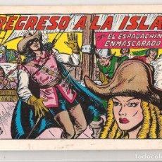 Livros de Banda Desenhada: EL ESPADACHÍN ENMASCARADO. Nº 55. DE RETAPADO. REEDICIÓN VALENCIANA 1981.(ST/). Lote 87344700