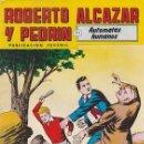 Tebeos: ROBERTO SALAZAR Y PEDRÍN Nº 259, SEGUNDA ÉPOCA. AUTÓMATAS HUMANOS. EDITORIAL VALENCIANA, 1981.. Lote 87346004