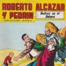 Tebeos: ROBERTO SALAZAR Y PEDRÍN Nº 237, SEGUNDA ÉPOCA. BUITRES EN EL SÁHARA. EDITORIAL VALENCIANA.. Lote 87416696