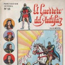Tebeos: EL GUERRERO DEL ANTIFAZ Nº 13 STAR PAPAGAYO SERIE INÉDITA. Lote 87562088