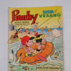 Tebeos: PUMBY Nº 973. REVISTA INFANTIL. AÑO XXII. EXTRA DE VERANO. TDKC9. Lote 87750476
