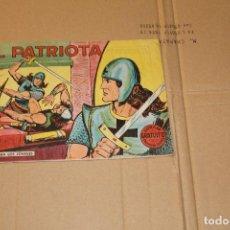 Tebeos: EL PATRIOTA Nº 1, EDITORIAL VALENCIANA. Lote 88854932
