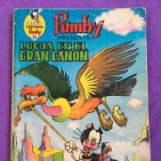 Tebeos: PUMBY - LUCHA EN EL GRAN CAÑON - LIBROS ILUSTRADOS 39 D8. Lote 88873896