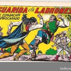 Tebeos: EL ESPADACHÍN ENMASCARADO. Nº 47. REEDICIÓN. VALENCIANA 1981. (ST/). Lote 89155348
