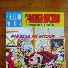 Tebeos: EL AGUILUCHO. Nº 2 : PIRATAS EN ACCIÓN. [SELECCIÓN AVENTURERA ; 183]. Lote 89342484