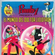 BDs: LIBROS ILUSTRADOS PUMBY - Nº 23 - EL MUNDO DEL DOCTOR CICLOTRÓN - ED. VALENCIANA - 1970. Lote 89395164