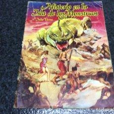 Tebeos: MISTERIO EN LA ISLA DE LOS MONSTRUOS Nº 1 JULIO VERNE -ED. EDITORIAL VALENCIANA. Lote 89406728