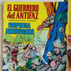 Tebeos: EL GUERRERO DEL ANTIFAZ Nº22: EMPRESA ARRIESGADA. ED. VALENCIANA, 1972. Lote 89479660