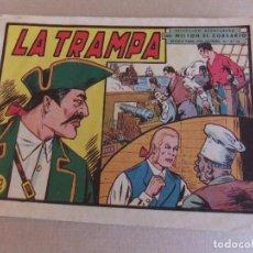 Giornalini: MILTON EL CORSARIO Nº 36 EDITORIAL VALENCIANA ORIGINAL. Lote 89548860