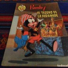 Tebeos: LIBROS ILUSTRADOS PUMBY Nº 48 EL TESORO DE LA PIRÁMIDE. VALENCIANA 1972. 40 PTS. BE. DIFÍCIL.. Lote 89996792
