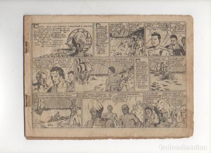 Tebeos: Los Piratas de la Malasia. Seleccion Aventurera . Original. Editorial Valenciana 1940 - Foto 2 - 90452954