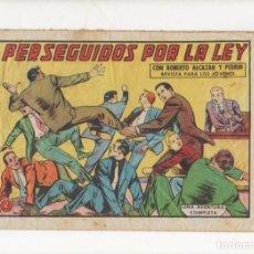 Tebeos: PERSEGUIDOS POR LA LEY. Nº 521 DE ROBERTO ALCAZAR Y PEDRIN. VALENCIANA. 1962.DIBUJA EDUARDO VAÑO. Lote 90455549
