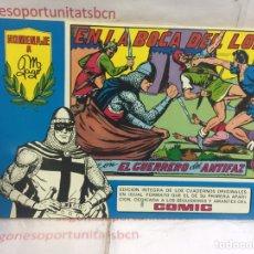 Tebeos: EL GUERRERO DEL ANTIFAZ - N°28 - HOMENAJE A GAGO.. Lote 90458183