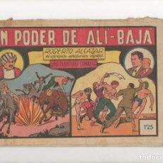 Tebeos: EL PODER DE ALI-BAJA. Nº 48 DE ROBERTO ALCAZAR Y PEDRIN. VALENCIANA.1943. DIBUJA EDUARDO VAÑO. Lote 90462649