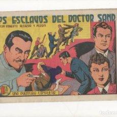 Tebeos: LOS ESCLAVOS DEL DOCTOR SAND. Nº 173 DE ROBERTO ALCAZAR Y PEDRIN.VALENCIANA.1943.DIBUJA EDUARDO VAÑO. Lote 90464749
