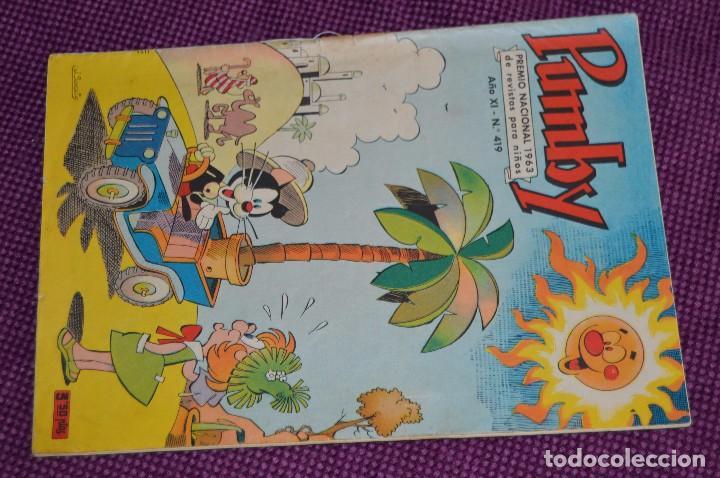Tebeos: LOTE DE 2 NÚMEROS - SUPER PUMBY - EDITORIAL VALENCIANA - ANTIGUO Y ORIGINAL - HAZME UNA OFERTA - Foto 4 - 90827730