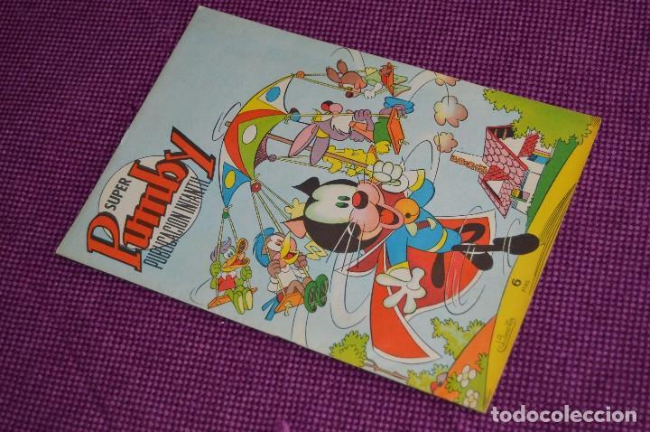 SUPER PUMBY PUBLICACIÓN INFANTIL, Nº 62 - MUY BUEN ESTADO - EDITORIAL VALENCIANA - ANTIGUO, ORIGINAL (Tebeos y Comics - Valenciana - Pumby)