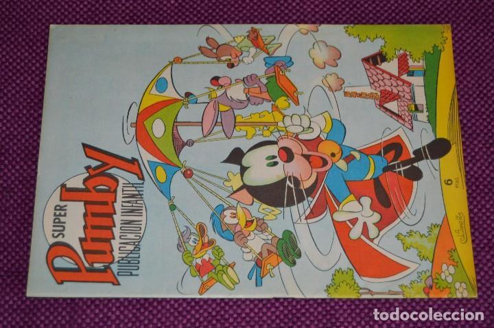 Tebeos: SUPER PUMBY PUBLICACIÓN INFANTIL, Nº 62 - MUY BUEN ESTADO - EDITORIAL VALENCIANA - ANTIGUO, ORIGINAL - Foto 2 - 90828310