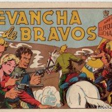 Giornalini: REVANCHA DE BRAVOS. EL PEQUEÑO LUCHADOR. ORIGINAL. Nº 44.. Lote 91072130
