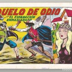 Tebeos: EL ESPADACHÍN ENMASCARADO 2ª EDICIÓN Nº 6 EDITORIAL VALENCIANA 1981. Lote 91279280