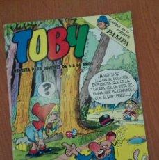 Tebeos: TOBY Nº 14. EDITORA VALENCIANA 1983.. Lote 91528965
