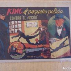 Tebeos: VALENCIANA,- KING EL PEQUEÑO POLICÍA º 14 CONTRA EL NEGRO. Lote 91694975