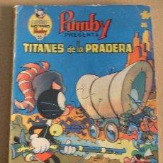 Tebeos: LIBROS ILUSTRADOS PUMBY Nº 55, EDITORIAL VALENCIANA. Lote 99793548