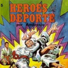 Tebeos: HÉROES DEL DEPORTE - Nº 5 - GRAN AMBRÓS- MEMORABLES HISTORIAS DE PEDRO QUESADA-FLAMANTE-1983-6743. Lote 91817245