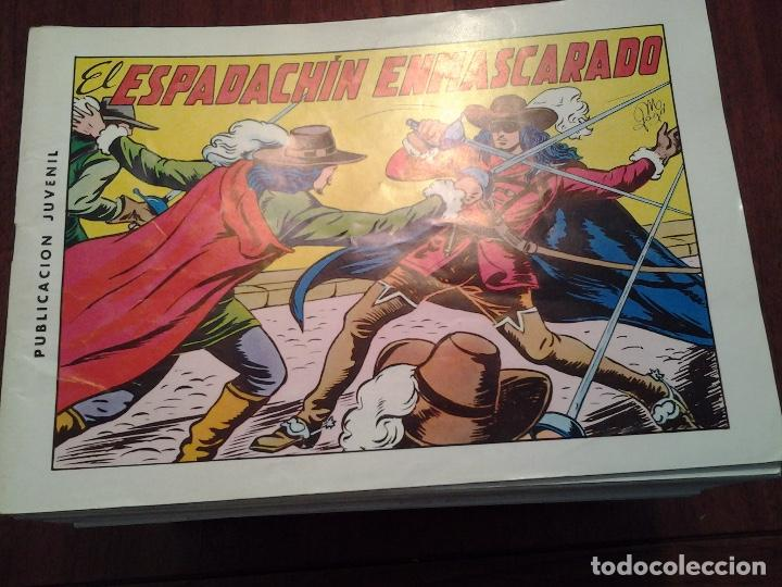 EL ESPADACHIN ENMASCARADO - EDITORIAL VALENCIANA - REEDICION - 84 NUMEROS - MUY NUEVOS (Tebeos y Comics - Valenciana - Espadachín Enmascarado)