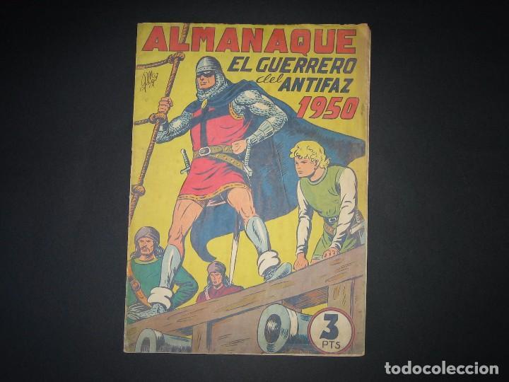 EL GUERRERO DEL ANTIFAZ - ALMANAQUE 1950 (1943, VALENCIANA) (Tebeos y Comics - Valenciana - Guerrero del Antifaz)