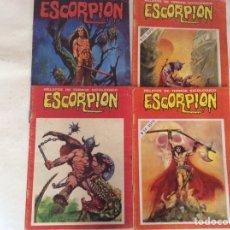 Tebeos: ESCORPION RELATOS DE TERROR LOTE DE 4 EJEMPLARES Nº 36,88,93,94,. Lote 92291330