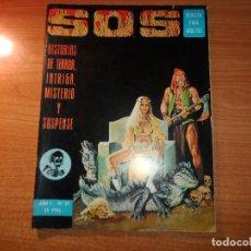 Tebeos: SOS Nº 21 1 ª EPOCA EDITORIAL VALENCIANA 1975 . Lote 92856965