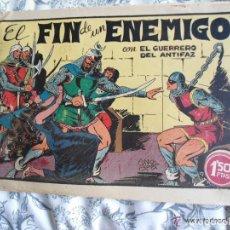 Tebeos: ANTIGUO COMIC TEBEO - EL GUERRERO DEL ANTIFAZ - EL FIN DE UN ENEMIGO - NUMERO 25 ORIGINAL . Lote 92901450