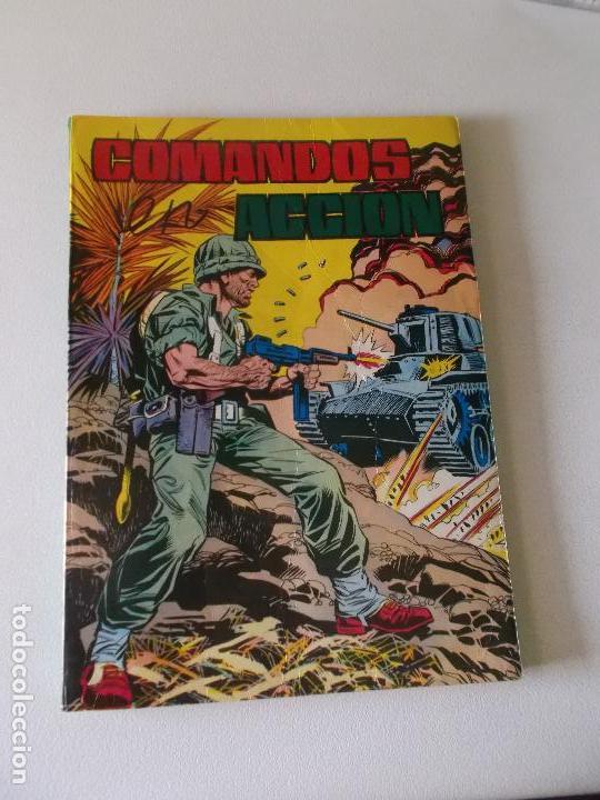 COMANDOS EN ACCION ESCLAVOS EN EL SIGLO XX 1981 (Tebeos y Comics - Valenciana - Otros)