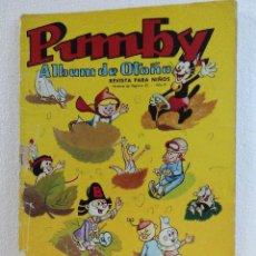 Tebeos: PUMBY ALBUM DE OTOÑO 1965. Lote 92956525