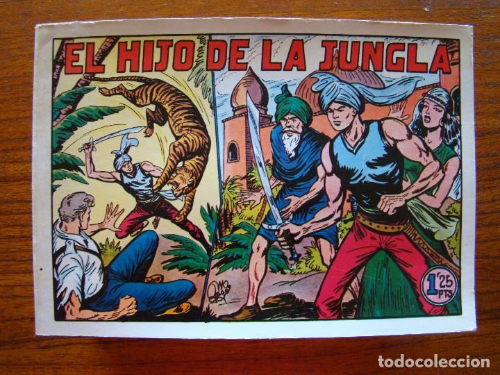 COLECCIÓN COMPLETA EL HIJO DE LA JUNGLA (Tebeos y Comics - Valenciana - Hijo de la Jungla)