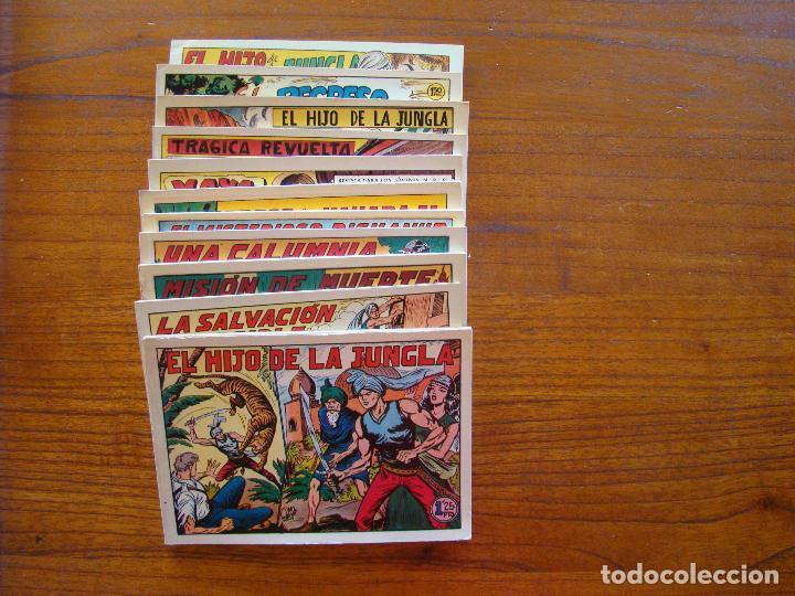 Tebeos: Colección completa El hijo de la jungla - Foto 2 - 93163130