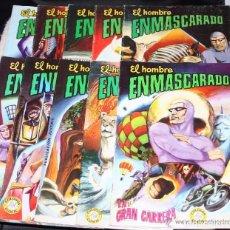 Tebeos: HOMBRE ENMASCARADO (PHANTOM ) ED.VALENCIANA Nº 1,2,3,4,5,6,7,15,16,17,23,24,27,28,30 Y 38.. Lote 93605460