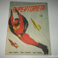 Tebeos: SUPERTORIETA N.6 PRES. CAPITAN MEDIANOCHE,Y OTROS HEROES1953.COLOR TIP.FAWCETT. Lote 93626190