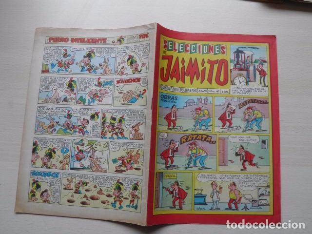 TEBEO DE SELECCIONES DE JAIMITO (Tebeos y Comics - Valenciana - Jaimito)
