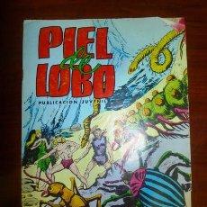 Tebeos: PIEL DE LOBO. Nº 16 : FAUNA SUBTERRÁNEA. (COLOSOS DEL COMIC ; 104). Lote 94165125