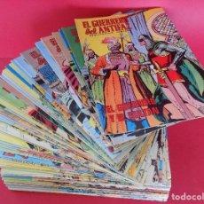 Tebeos: 78 COMIC CONSECUTIVOS, EL GUERRERO DEL ANTIFAZ-Nº DEL 161 AL 238 - EDT.VALENCIANA -AÑO 1975..R- 6771. Lote 94379070